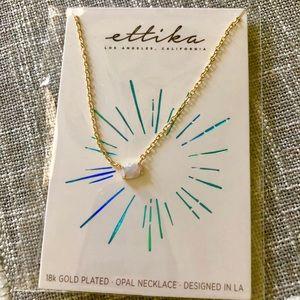Ettika opal necklace